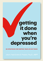 Book Cover - Getting It Done When You're Depressed